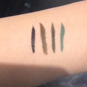 Swatched: Stila Stay All Day Waterproof Liquid Eye Liner and ...